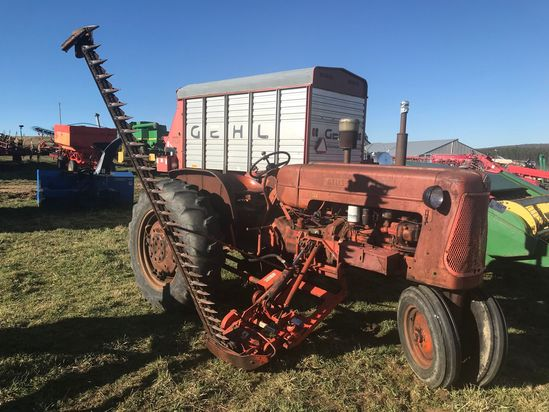 AC D17 TRACTOR