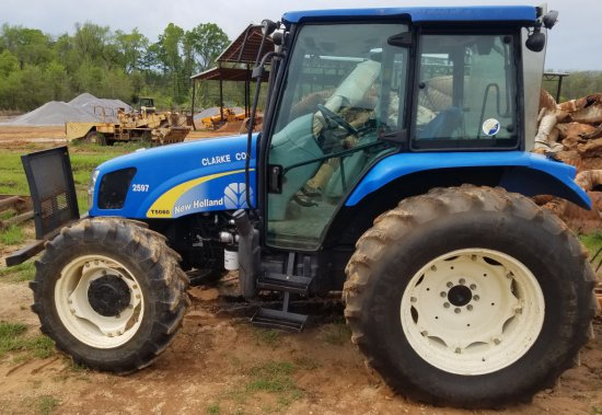 New Holland T 5060 MFWD