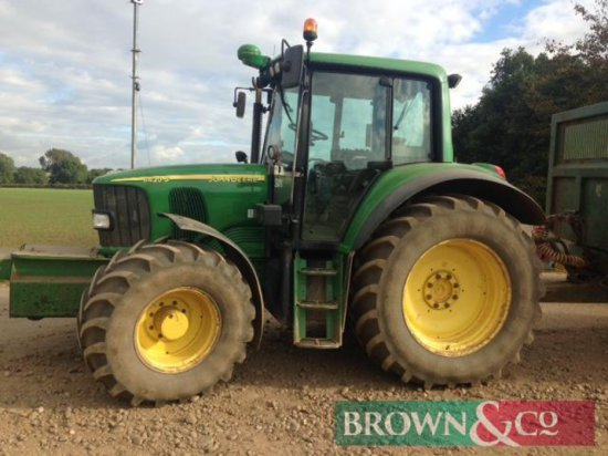 Make: John Deere Model: 6420S Year: 2006 Hours: 7500 4wd, 50kph, cab suspension, air brakes, 600