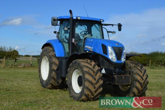 New Holland T7.250 Power Command 4WD Tractor