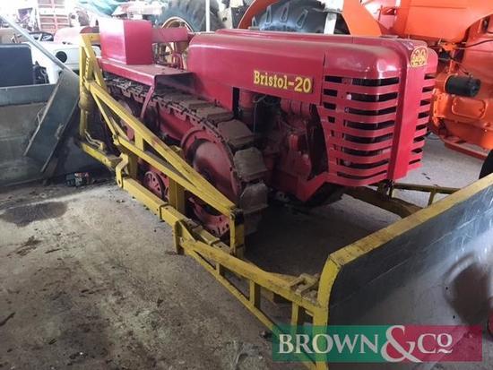Bristol 20 Bulldozer with Blade