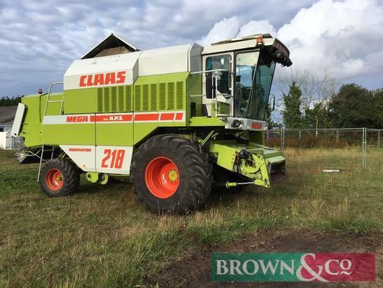 Claas Mega 218 Combine Harvester (94)