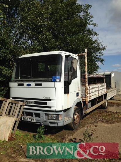 Iveco Cargo Rigid Flatbed Lorry