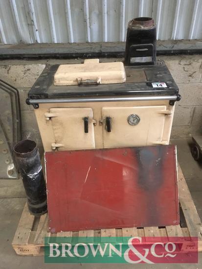 Cast iron oven