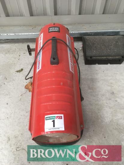 Sealey AB458 space heater. Serial No. 9H030453
