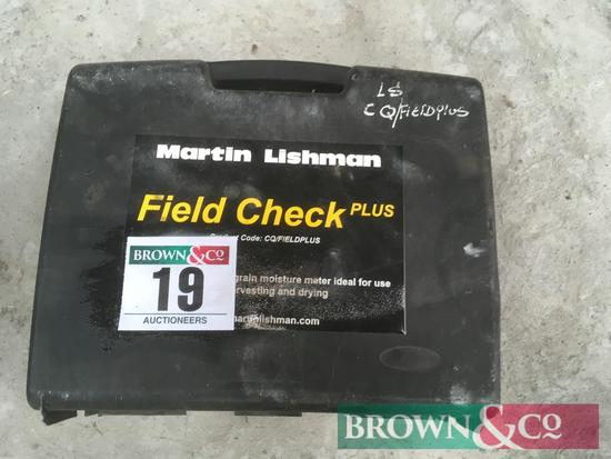 Martin Lishman Field Check Plus moisture meter