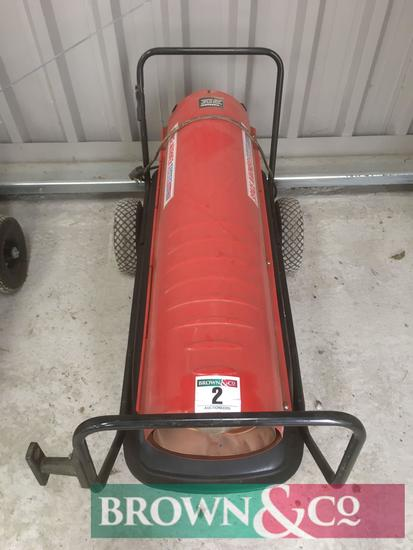 Sealey AB1758 Space heater. Serial No. 10H008660