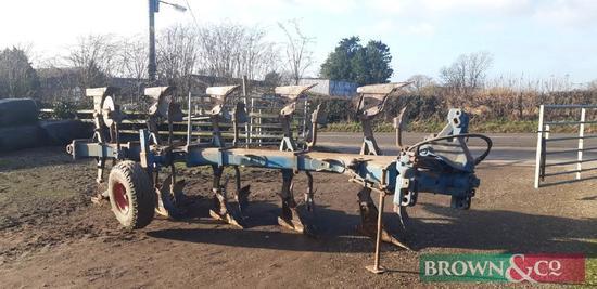 Ransoms 3+1+1 5 Furrow Reversible Plough