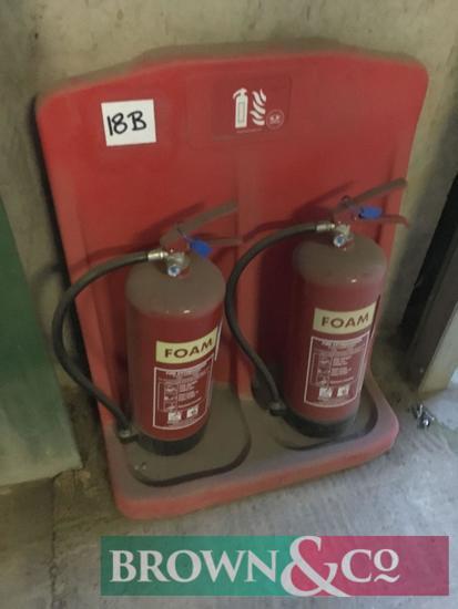 Quantity fire extinguishers