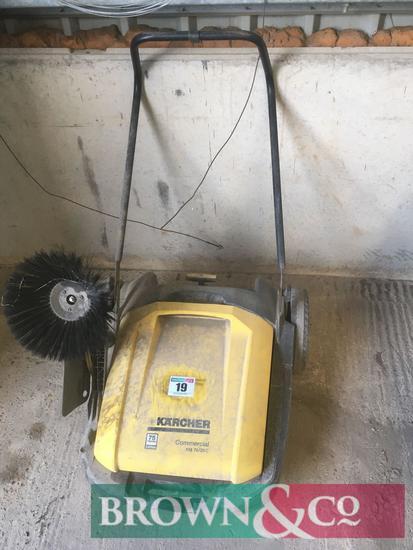 Karcher Commercial KM70/20C pedestrian floor sweeper