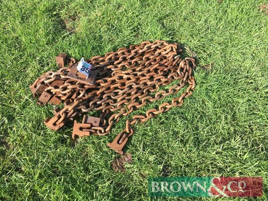 Quantity Howard manure spreader chains