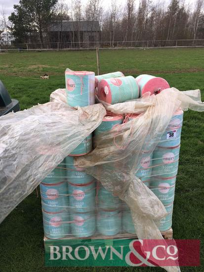Approx. 100 bales Farmers Hay Twine