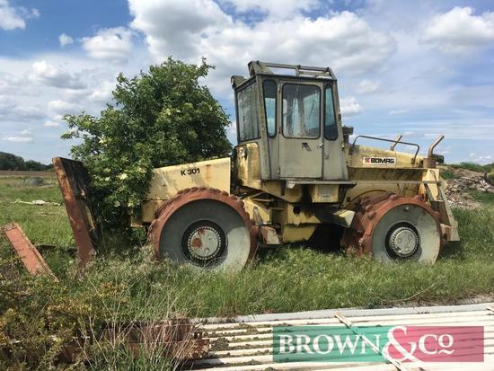 Bomag K301 Bulldozer/Compactor