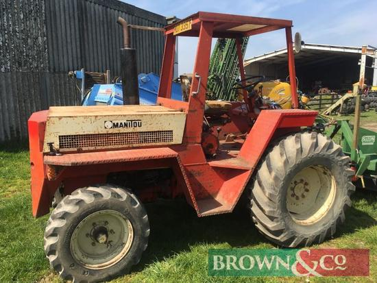 Modified Manitou MB25P Forklift