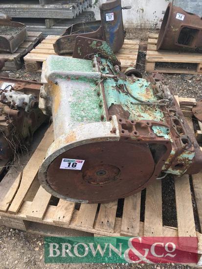 Fordson engine block