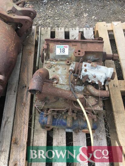 3 cylinder engine block