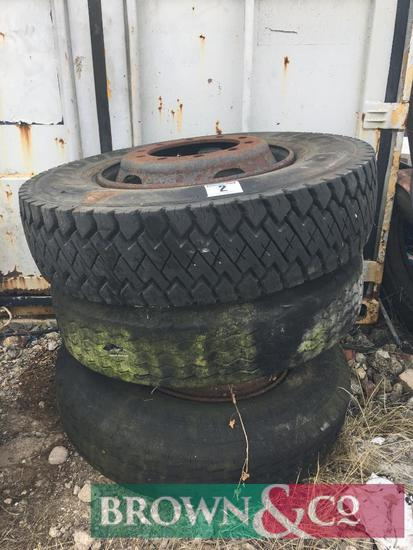 Miscellenaous wheels and tyres (3)
