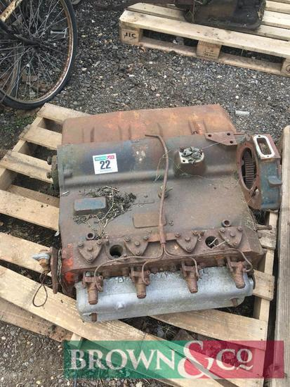 Perkins engine block