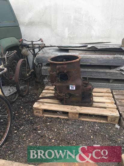 Fordson E27N gearbox