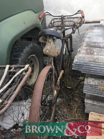 Vintage postman's bicycle
