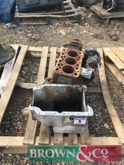 Fordson 3 cylinder engine block