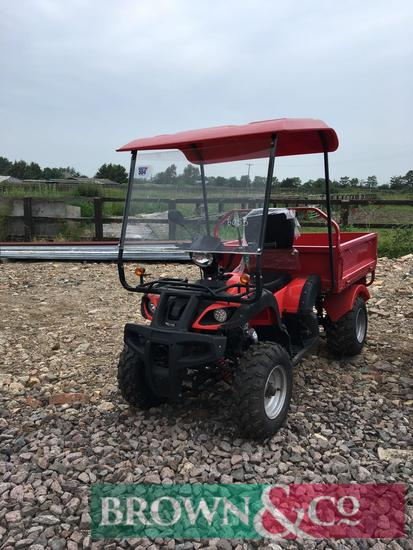 Jinling 4wd quad conversion with canopy and tipping bed
