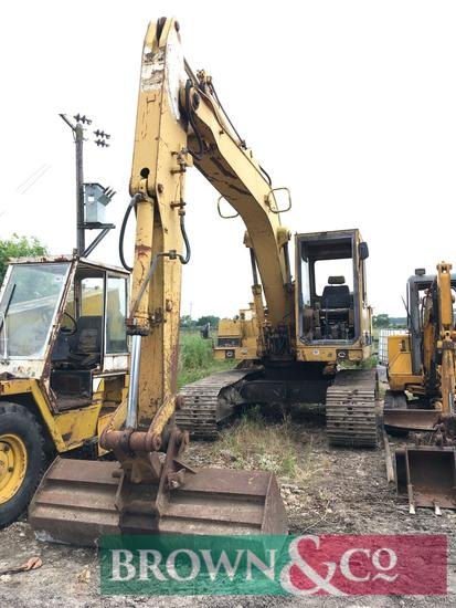 CAT 911LC excavator (buckets available privately at ...100)