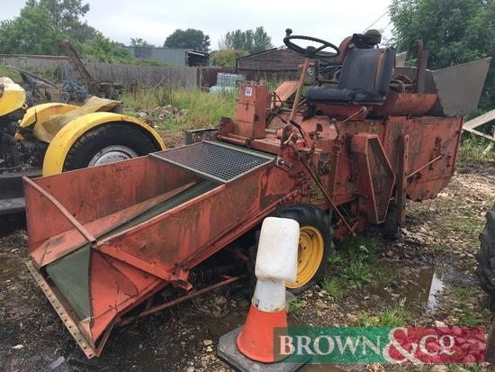 Hansulrich plot combine with VW air cooled engine. Hrs: 118. Non runner