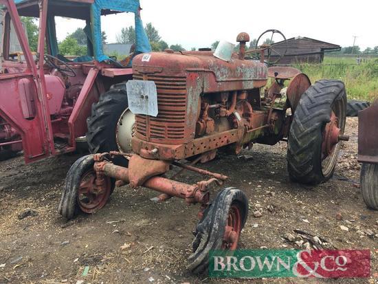 Farmhall Model M 2wd tractor. Non runner