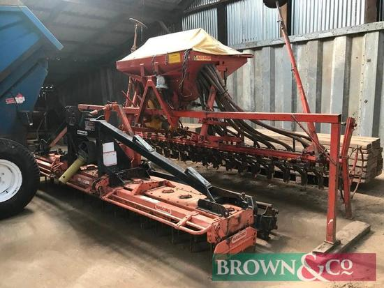 4m Accord Combination Seed Drill and 4m Maschio Power Harrow