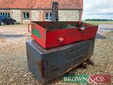 Fendt 2,500kg Front Tractor Weight
