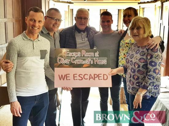 Entry to Ely Escape Room for a team of 4-8 people followed by a meal voucher for Two Hundred Pounds