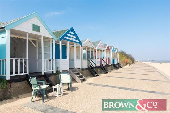 A day at a Beach Hut at Gun Hill end of Southwold beach on a date of the buyers choice with