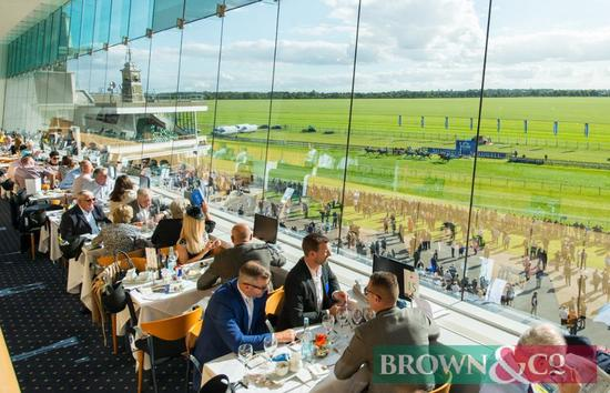 Horse Racing Experience for 4 people at the Newmarket July Course or the Rowley Mile Premier tickets