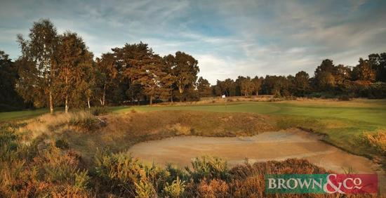 Woodhall Spa Golf, one midweek round for three people (playing with a member) on the renowned