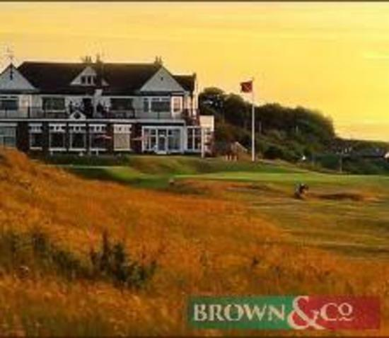 A two ball round of golf at Hunstanton Golf Club, North Norfolk on a date and time to be agreed.