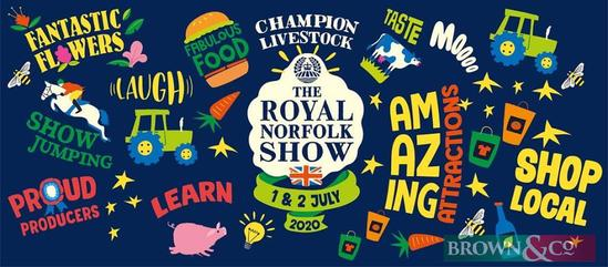 The Royal Norfolk Show Wednesday 1st & Thursday 2nd July 2020 Two members tickets for the UK?s