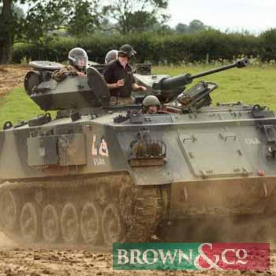 Tank Driving Taster for 3 people at Husbands Bosworth, Leicestershire, LE17 6NW. A one hour tank