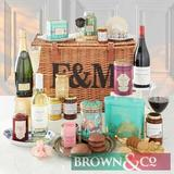 Fortnum & Mason - Marylebone Hamper - Savoury delights and sweet pleasures unite in this delectable