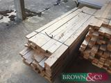 Quantity timber 82No 2.4m x 100mm x 30mm. Collection from Geaves Farm, PE27 3HG. Kindly donated by