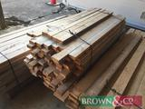 Quantity timber 193No 1.5m x 100mm x 35mm. Collection from Geaves Farm, PE27 3HG. Kindly donated by