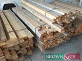 Quantity timber 195No 2.1m x 70mm x 35mm the bottom bundle in the photo. Collection from Geaves