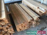 Quantity timber 110No 1.8m x 80mm x 35mm. Collection from Geaves Farm, PE27 3HG. Kindly donated by