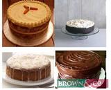6 Freshly made cakes , 1 each week for 6 weeks. Select from the following flavours: Chocolate fudge,