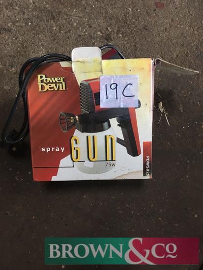 Power devil spray gun