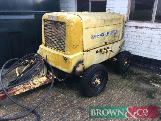 Broomwade diesel compressor