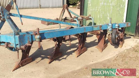 Ransome 5-furrow Plough