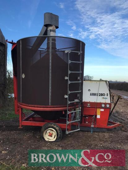 Mobile Grain Dryer