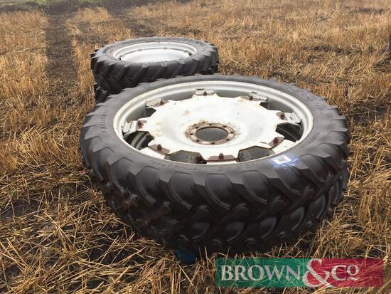 Set of 4 No. Row Crop Wheels