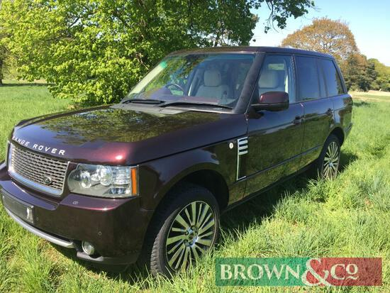 2010 Land Rover Range Rover Autobiography Ultimate Edition